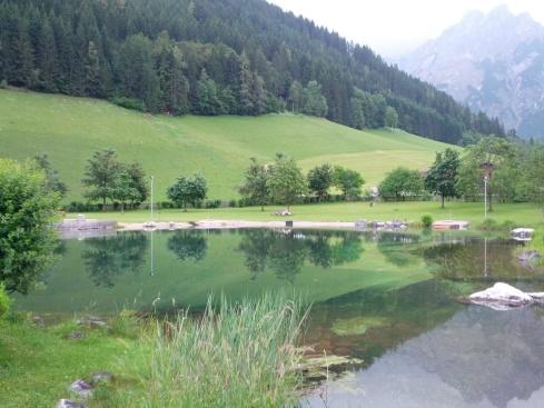 doğal yüzme havuzu