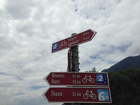 Chur - Disentis 62 km