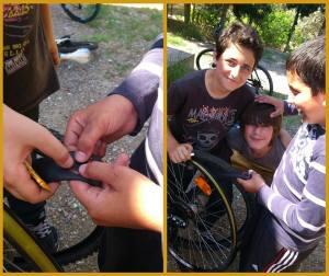 öğrenciler bisiklet -bisikletim