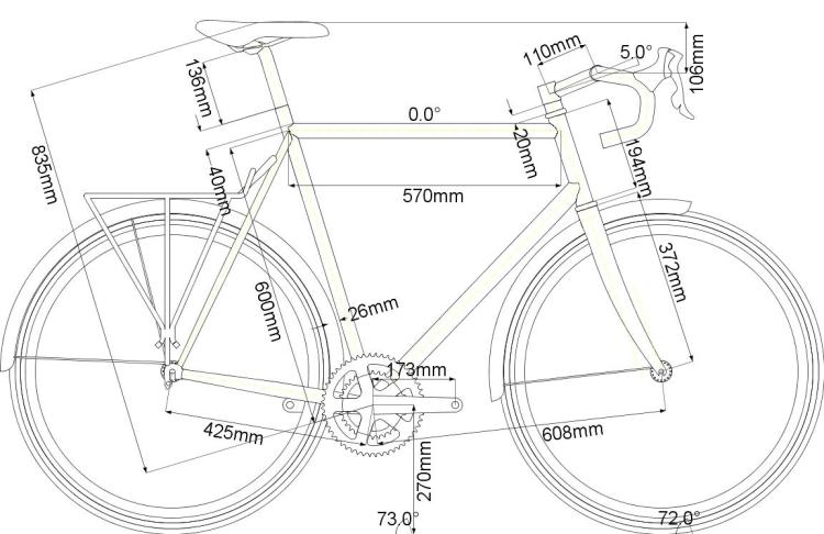 el yapımı bisiklet taslak
