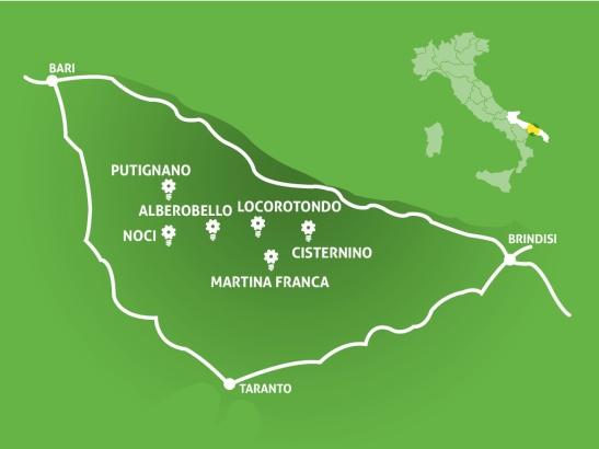 İtria Vadisi, Puglia, İtalya