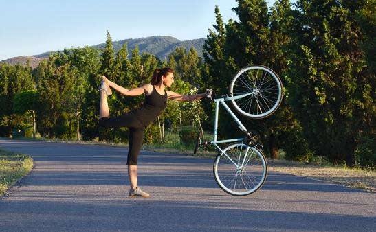 bisikletciler icin yoga