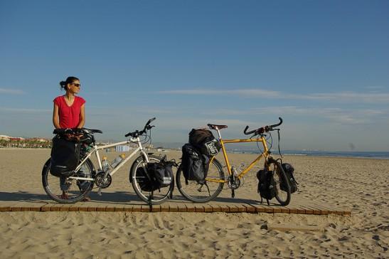 vaude bisiklet arka ön çanta back pannier