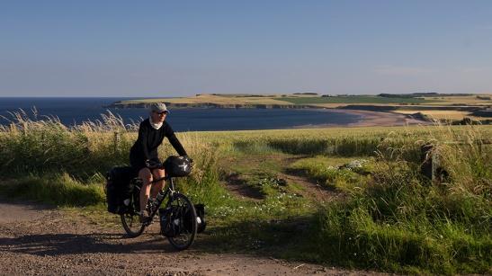 east coast scotland by bike