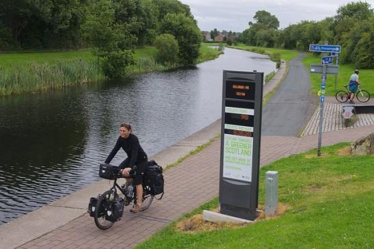 cyclist counter glasgow