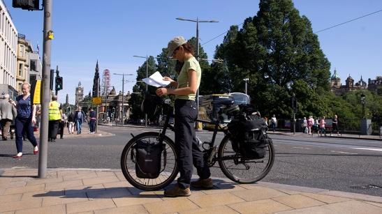 edinburgh bike cycling