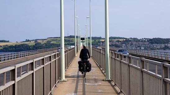 tay bridge by bike