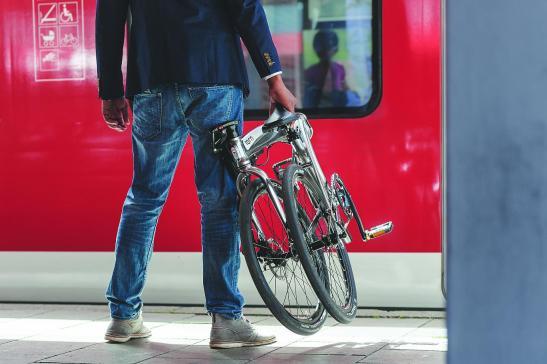 katlanabilir bisiklet metro