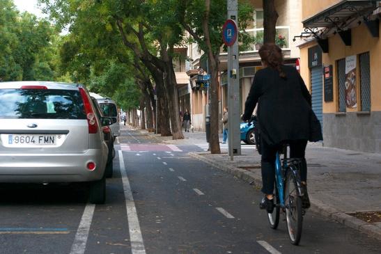 bike lanes palma